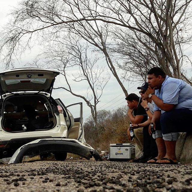 Luis Alfonso Partida 'El Yaki', Salvó Su Vida Luego De Aparatoso Accidente Automovilístico