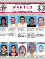Publican las lista de los 10 criminales más buscados en
