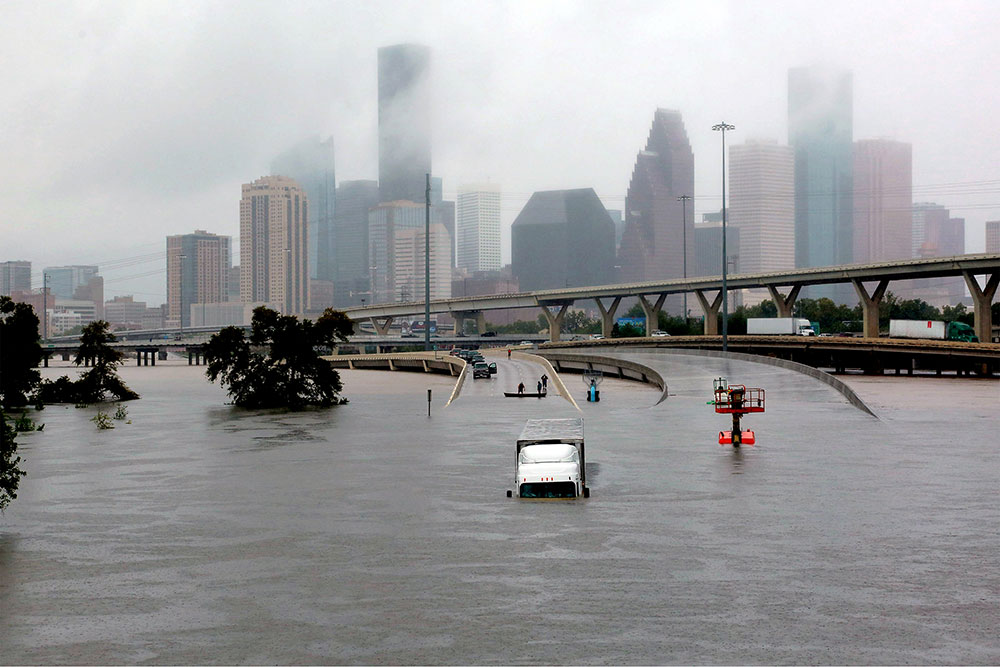 Interactive photos Houston before and after the