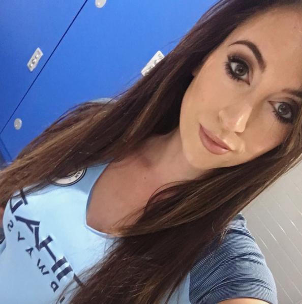 La Cara Bonita Del Manchester City Se Llama Kelly O'Donnell