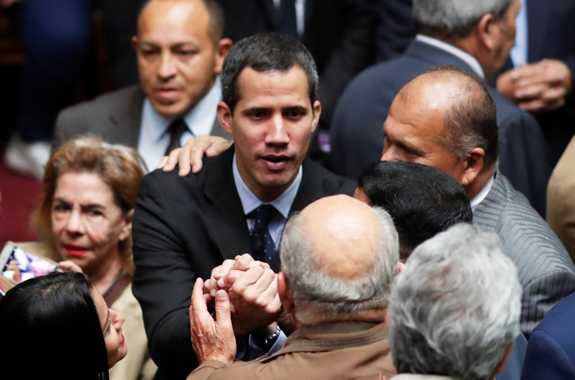 """Image result for EEUU reitera a Maduro que """"habrá serias consecuencias"""" si Guaidó sufre algún daño"""