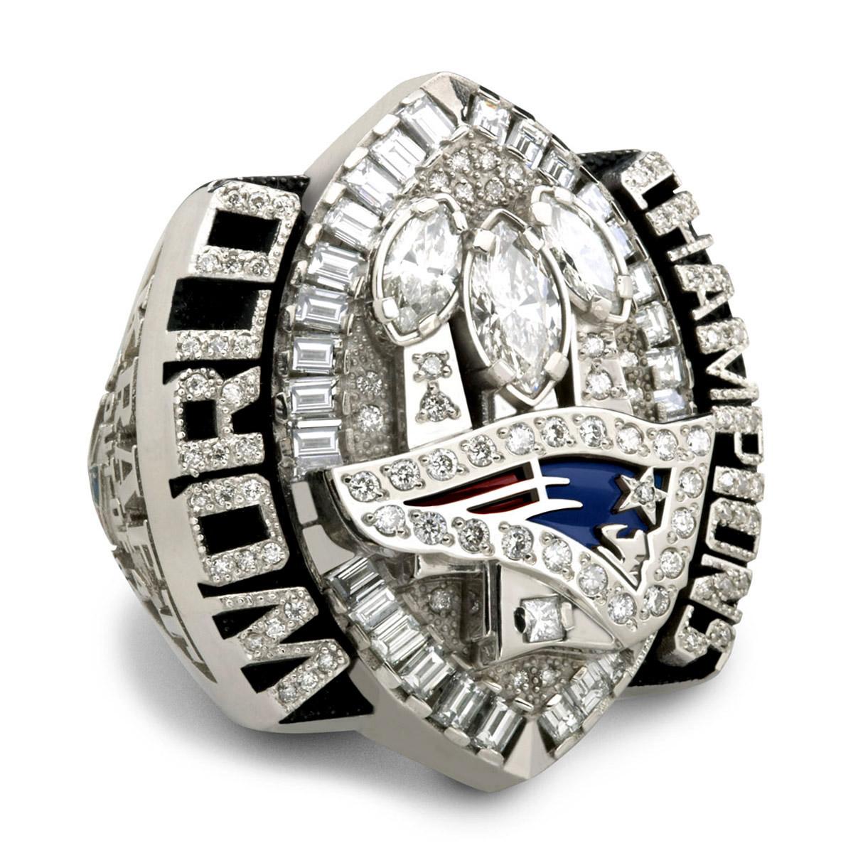 Recuerdo Del Super Bowl XXXIX Entre Los New England Patriots Y Philadelphia Eagles