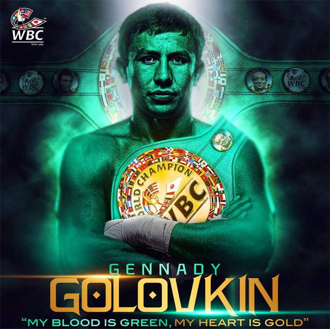 Gennady Golovkin Campeón Absoluto Medio CMB