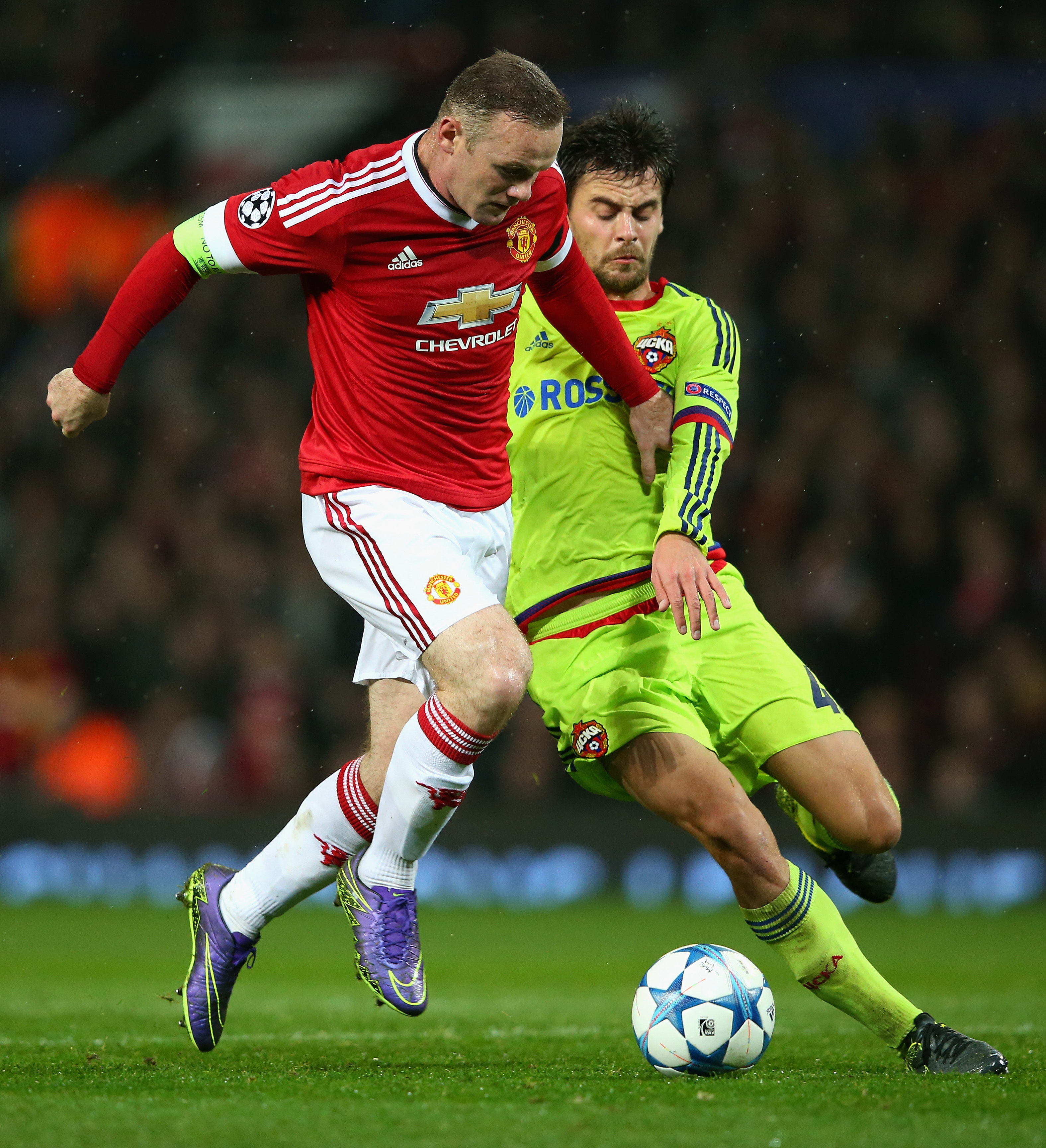 Amar A Muerte Capitulo 31: Manchester United 1-0 CSKA Moscu: Rooney Castiga Al CSKA Y