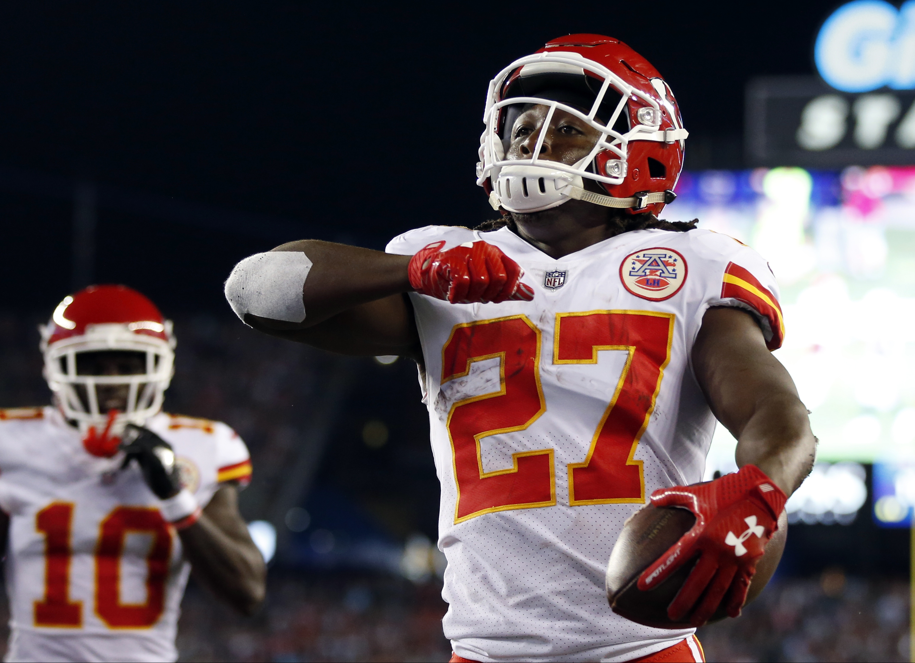 Kareem Hunt 2018 player profile game log season stats career stats recent news If you play fantasy sports get breaking news and immerse yourself in the ultimate