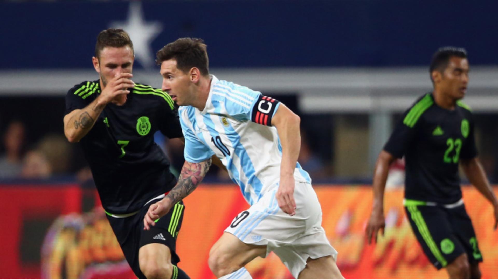 Resultado de imagen para selección mexicana vs Argentina