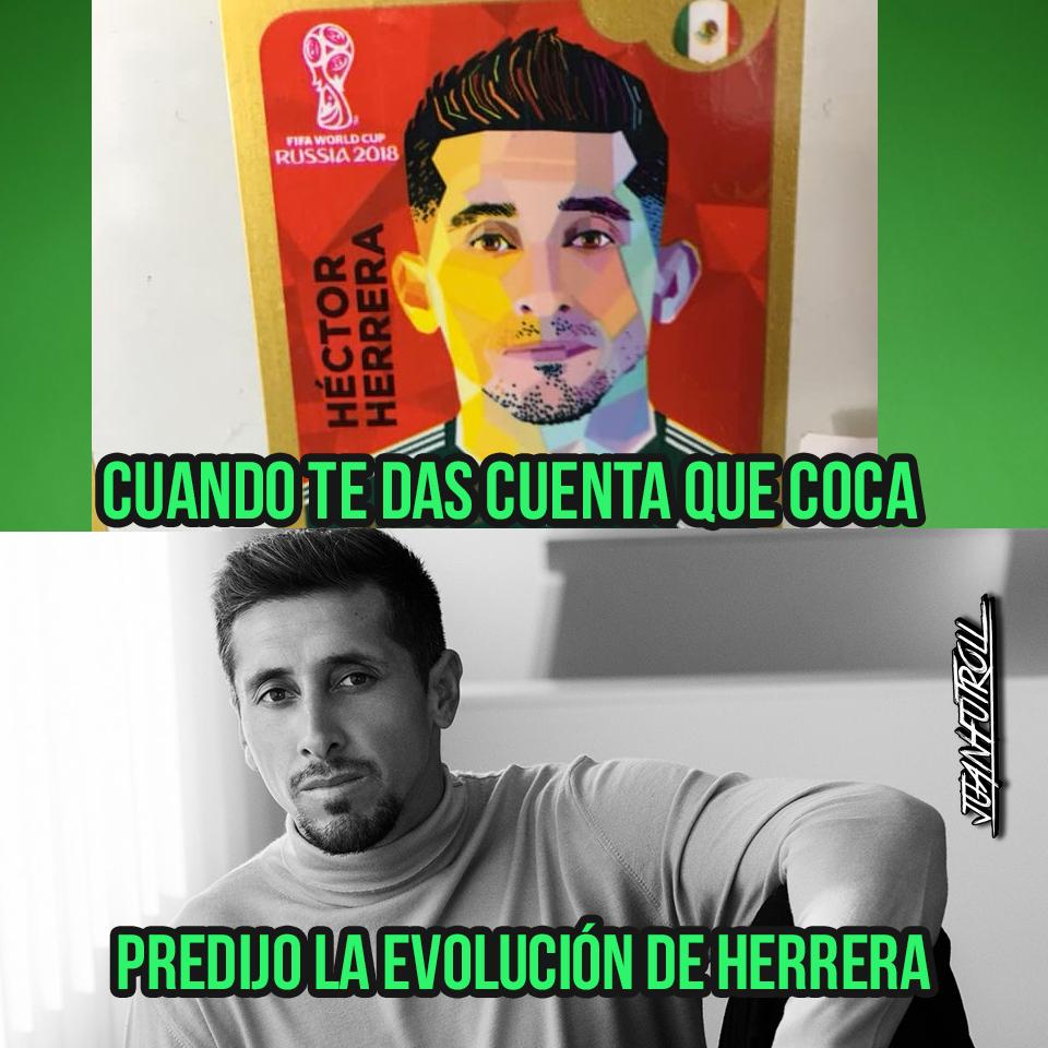 Memelogía: Héctor Herrera Tuvo Un Cambio De Imagen Y Las Redes Sociales Se Burlaron De HH