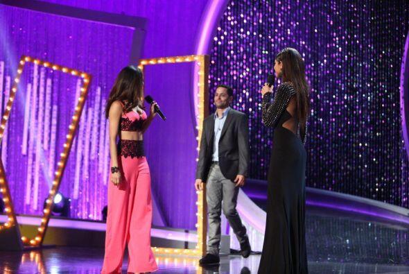 En el escenario apareció el novio de Alina, quien venía a...