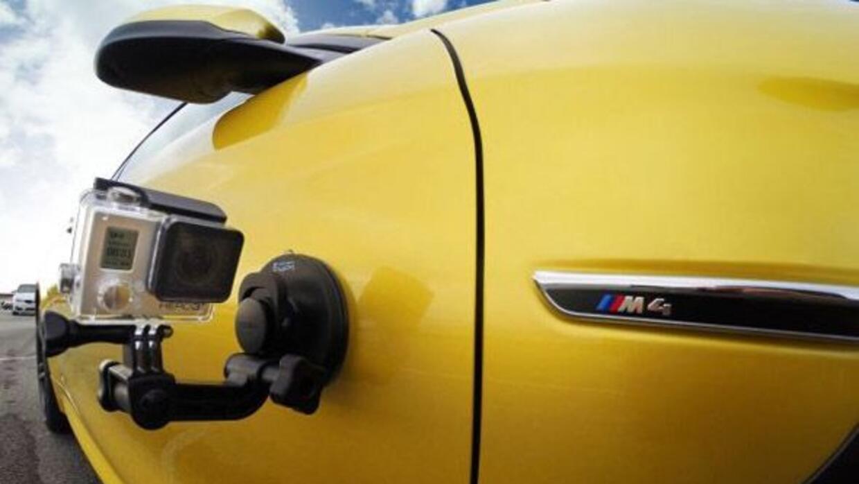 BMW se unió a GoPro para crear una app específica para sus autos.