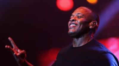 Dr. Dre, el músico que encabeza la lista.