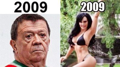 Los mejores memes del '10 Year Challenge': Chabelo y Maribel Guardia tienen algo en común
