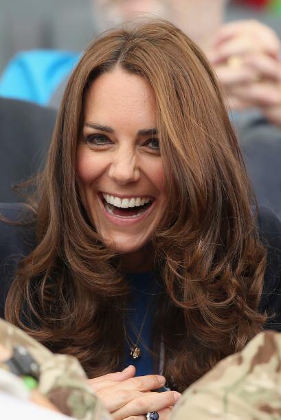 La Duquesa, con una hermosa sonrisa.