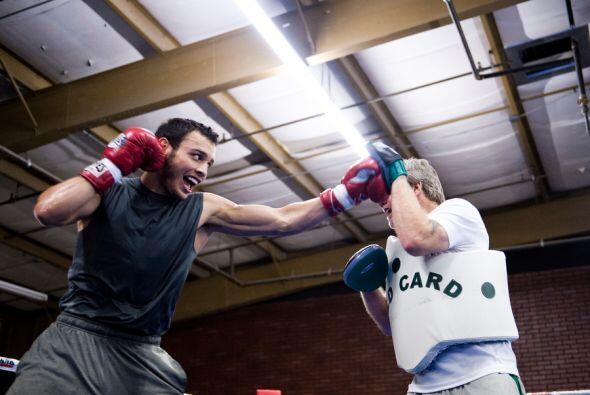 Según el mismo boxeador, su trabajo en defensa y en potencia ha mejorado...