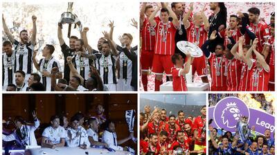 Alegrías y tristezas; campeones, descensos y ascensos en el fútbol de Europa