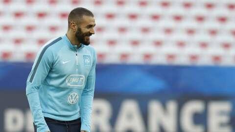 """Benzema: """"No tengo rencor contra Valbuena"""""""