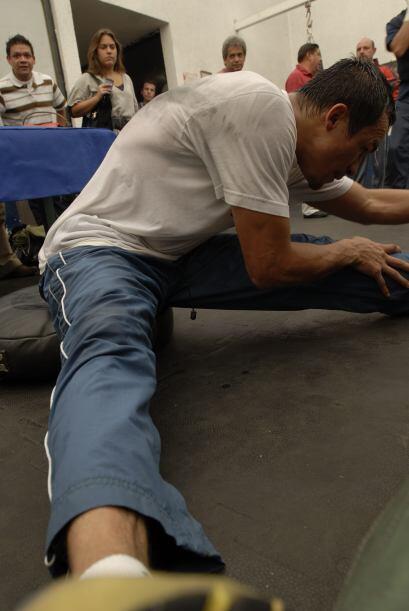 Hay que cuidar cada músculo con el debido cuidado.