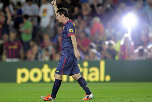 Segundo tanto de la noche para Lionel.