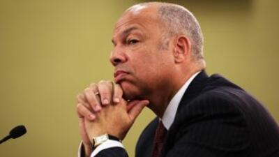 Jeh Johnson, jefe de la seguriad de Estados Unidos.