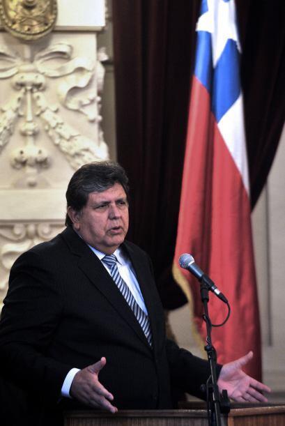 El presidente peruano visitó la Corte Suprema.