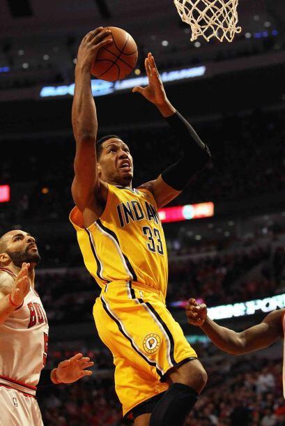 Danny Granger de los Pacers de Indiana. Sus atributos en la duela lo hac...