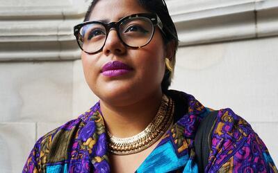 Sonia Guiñansaca, una poetisa, activista y queer con mucho estilo