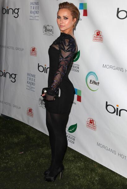 La actriz Hayden Panettiere, la bella novia del campeón mundial de los p...