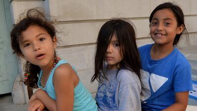 El rastro de los niños migrantes en California