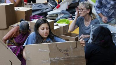 Hundreds of institutions are collecting donations of non-perishable food...