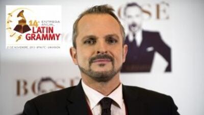 Miguel Bosé será nombrado Persona del Año 2013 de la Academia Latina de...