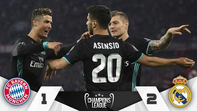 Bayern Munich vs Real Madrid Abril 25