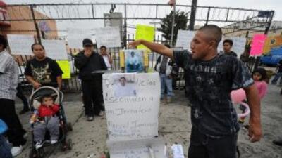 La muerte de Manuel Jamines, un obrero de la construcción guatemalteco,...