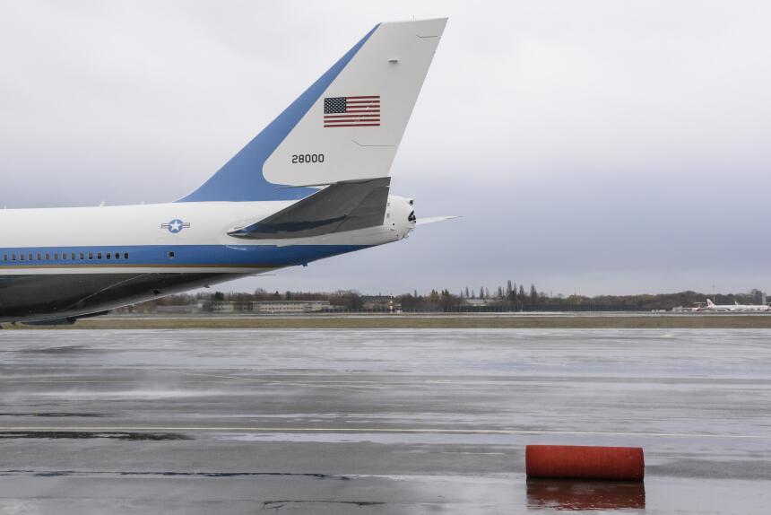 El Air Force One será relevado en los próximos años por un Boeing 747-8,...
