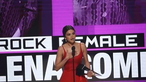 """Selena Gómez en los AMAs: """"Tuve que parar porque lo tenía todo, pero est..."""