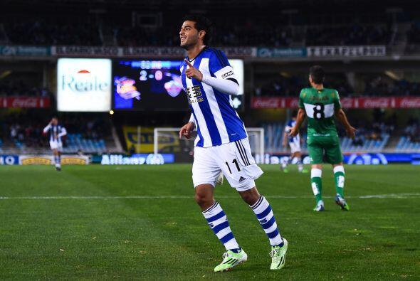 Carlos Vela es el mejor mexicano en Europa y se confirma con su nombrami...