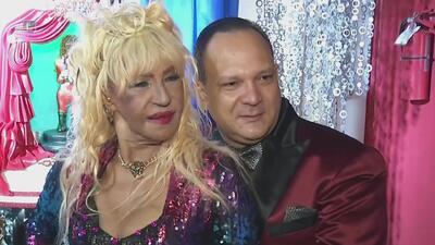 Fefita La Grande recibe propuesta de matrimonio en su 75 cumpleaños
