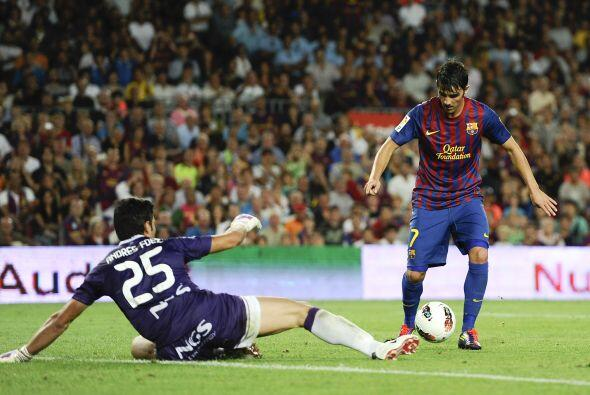 Barcelona tuvo muchas situaciones de gol ante un rival que se mostró per...