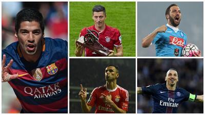 La increíble temporada de goleadores en Europa