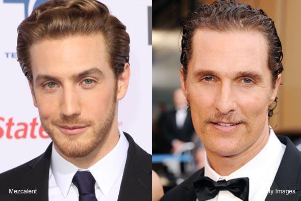 Actores y sus hermanos gemelos