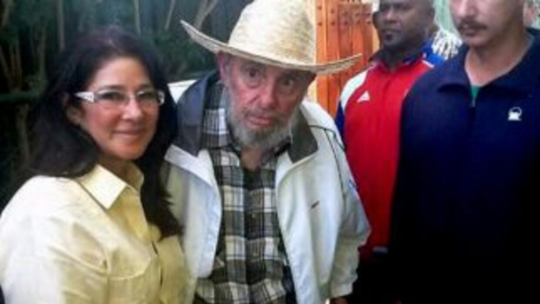 Nicolás Maduro publicó esta imagen de Fidel Castro en su cuenta de Twitt...
