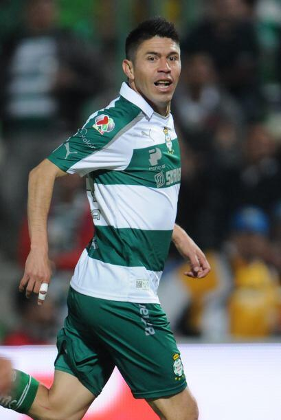 Oribe Peralta.- Es el futbolista de moda en nuestro país y se lo ha gand...