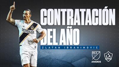 Luego de una sobresaliente temporada regular, Zlatan Ibrahimovic es la Contratación del Año en MLS