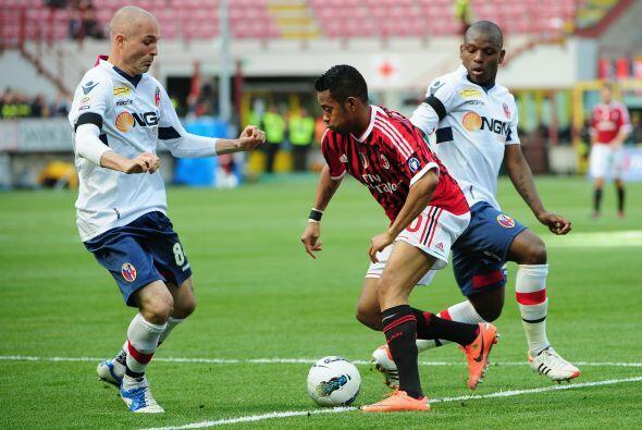 Y es que el Milan se lanzó al ataque para igualar el duelo al instante.