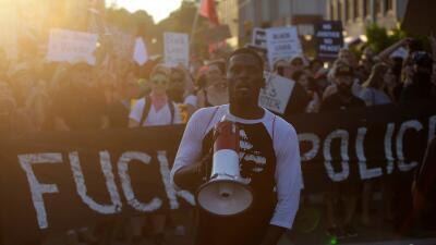 En fotos: Missouri protesta por la absolución de un policía que baleó a un hombre negro