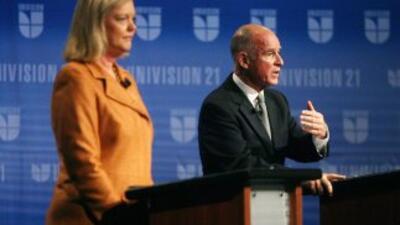 Los candidatosa la gobernación de California se enfrentaron en un acalor...