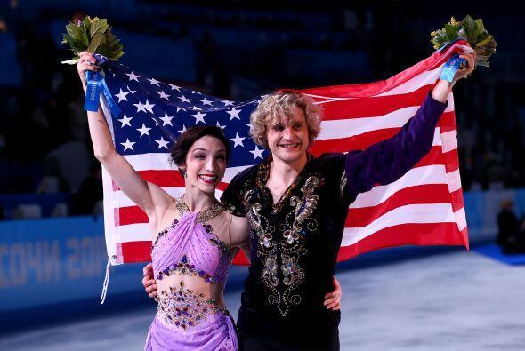 Meryl Davis y Charlie White se han proclamado hoy campeones olímpicos de...