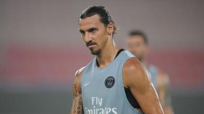 El crack sueco ya entrenó otra vez con el París Saint-Germain.
