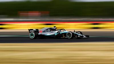 Así fue la heroica remontada de Lewis Hamilton en Silverstone
