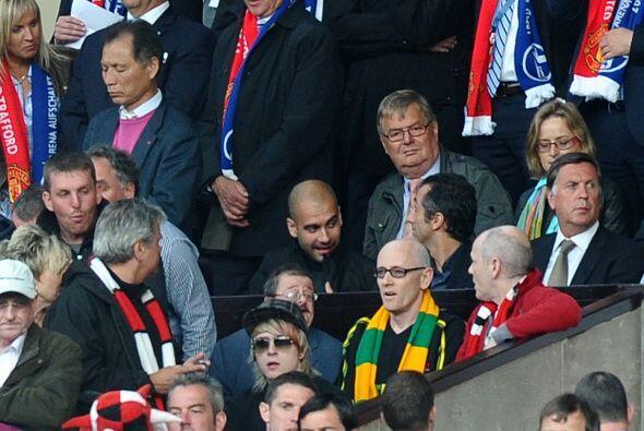 'Pep' estuvo en el estadio para conocer al club que será su rival en Wem...