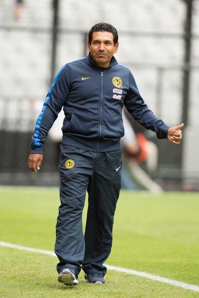 -En América entrenaron bajo las órdenes de Álvaro Galindo. El técnico de...