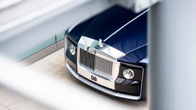 ¿Quién es el elusivo comprador del Rolls-Royce Sweptail ?